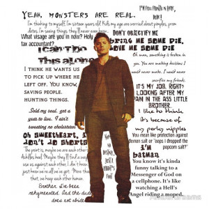 Dean Winchester quotes - red
