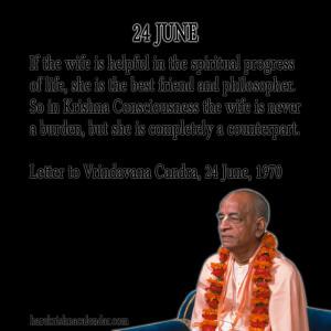 Srila Prabhupada Quotes For Month June24
