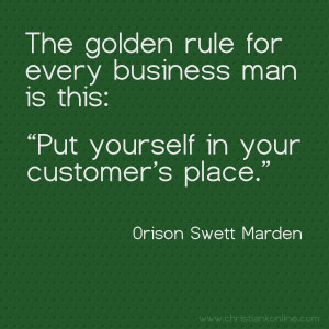 ... you need to put your customer first, not yourself. #humility #quotes