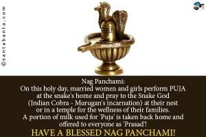 Nag Panchami: