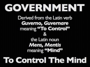 """... """"To Control"""" & the Latin noun Mens/Mentis meaning """"Mind"""