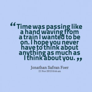 time keeps passing by and it quotes about time passing