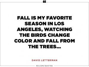 David Letterman on the Governator...