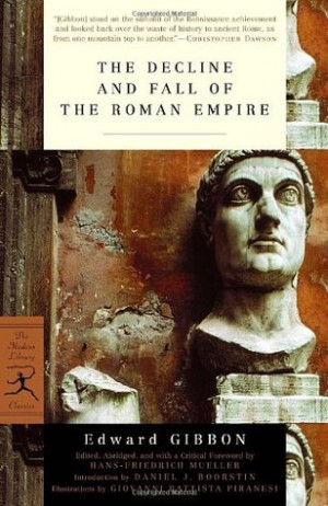 "... ""The Decline and Fall of the Roman Empire"" as Want to Read"