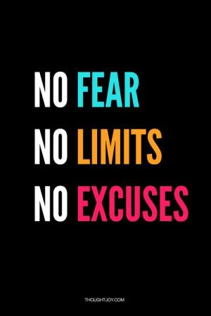 No fear. No limits. No excuses. #hardcore #workout #fitness # ...