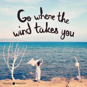 Quote wind love life breeze
