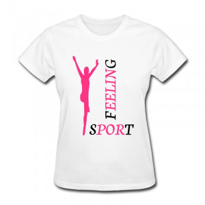 Low Price Slim Fit Woman Shirt feeling sports Custom Swag Quote T for ...