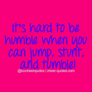 Cheerleading Tumbling Quotes Cheer quotes
