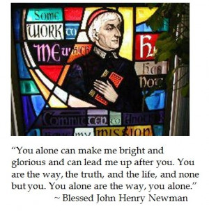 John Henry Newman on #faith #catholic #quotes