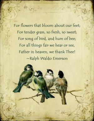 thankful - Emerson
