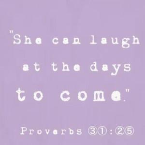 Virtuous Woman....