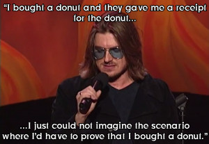 Mitch Hedberg February 24, 1968 – March 29, 2005