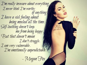 Megan Fox Quotes ♥