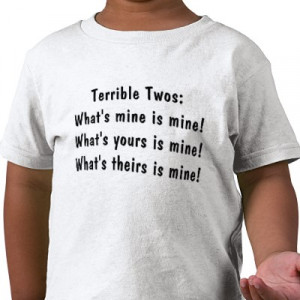What to DO about the TERRIBLE TWO's