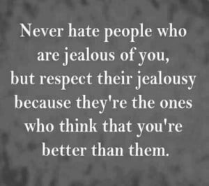 Jealousy quote words