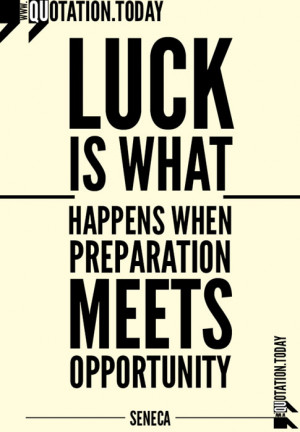 Quotations | Seneca – Quotes on Luck