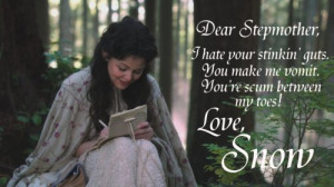 Snow White's Letter - once-upon-a-time Fan Art