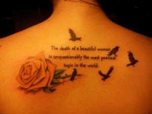 Side Quote Tattoo Memory Tattoos In Of Mom Source picture