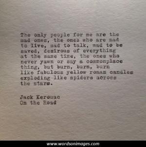 jack kerouac quotes about love