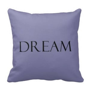 Purple Quotes Inspirational Quote Throw Pillows Dream Dusty Purple ...