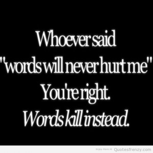 sayings bullying life anorexia fat emo depressed story Quotes