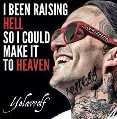 Raising hell More