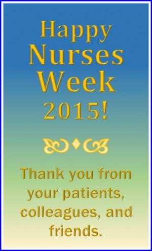 Nurses Week 20% discount!