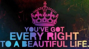 Every right to be beautiful quote via The Beauty of Thinking Positive ...