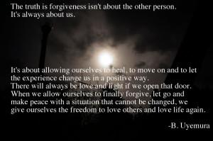 Forgiveness Quote