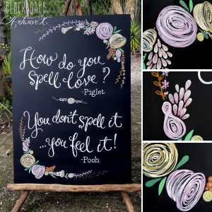 love quote wedding chalkboard love quote wedding chalkboard featuring ...