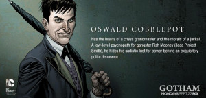 Gotham TV Series Recruits Gary Frank To Draw The Penguin