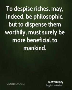 Fanny Burney Quotes