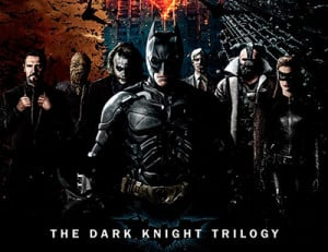 The Dark Knight Trilogy Poster. By Christopher Nolan