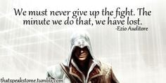 creed quote more assassins creed tattoo assassins creed quotes ...