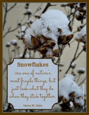 Snow quotes, best, meaningful, sayings, snowflakes