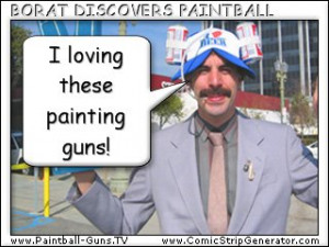 To submit your paintball comic or cartoon to be published, email it to ...