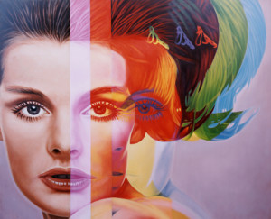 Gossip Girl - Spectrum 1998 by Richard Phillips