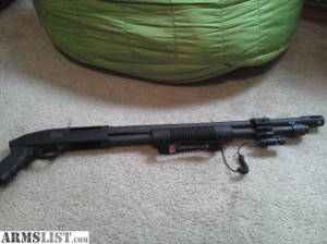 For Sale Trade Tactical Mossberg Pistol Grip With Breacher Barrel