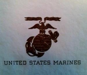 US Marine Corps Postmarks & Letterhead, World War II