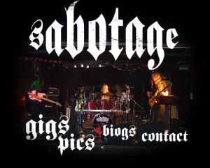 Sabotage plays classic Black Sabbath, Jimi Hendrix, Robin Trower ...