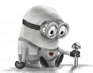 Sad minion: Sad Minions, Minionsmi Villano, Minions Mad, Drawn Minions ...
