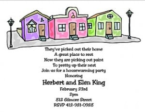 Funny House Warming Party Invitation Wording