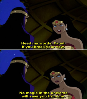 Justice League Animated Series Quote-6