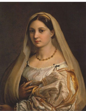 Raphael, La Donna Velata , c. 1514-1516. Oil on canvas, Palazzo Pitti ...