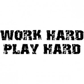 Work Hard Play Hard Quotes