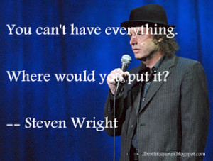 quotes steven wright a have a pony steven wright quotes