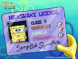 Cute Spongebob Quotes Spongebob's milkshake lisence,
