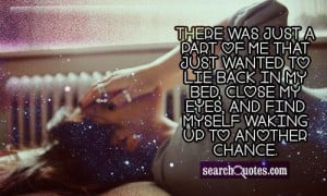 One More Chance Love Quotes