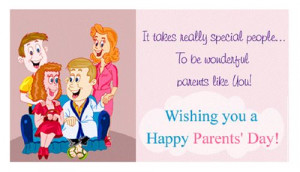 Happy Parents Day 2014 Wishes Card, Greetings Card and Text Messages
