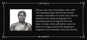 QUOTES BY LOBENGULA | A-Z Quotes